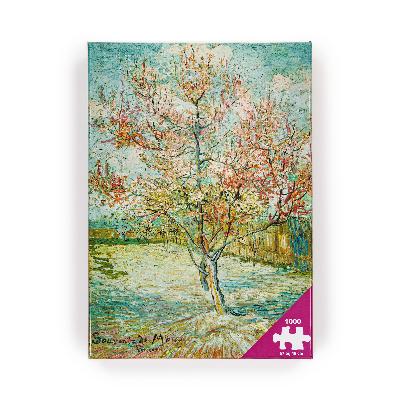 Van Gogh Puzzle - Pink peach trees