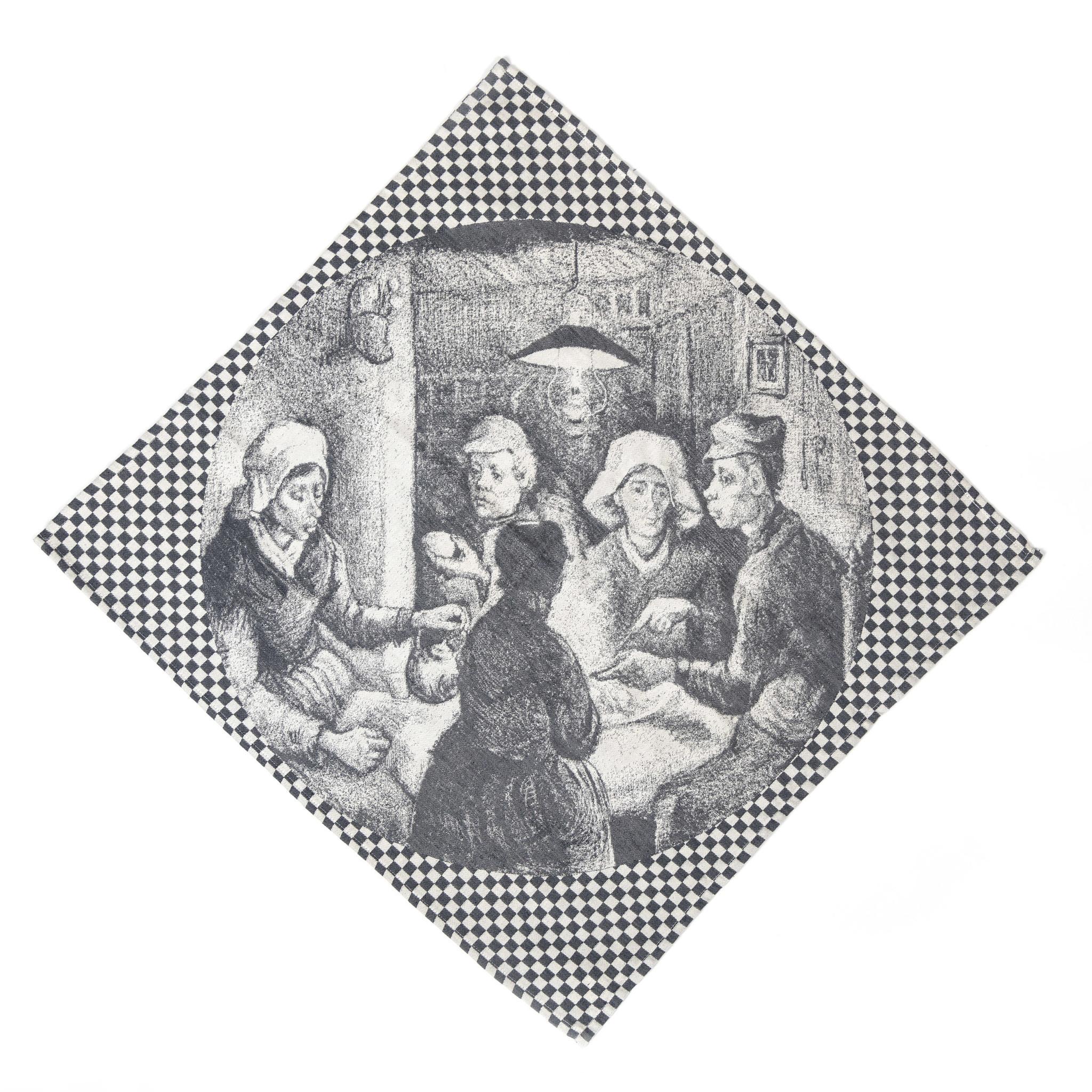 Tea towel Van Gogh The potato eaters