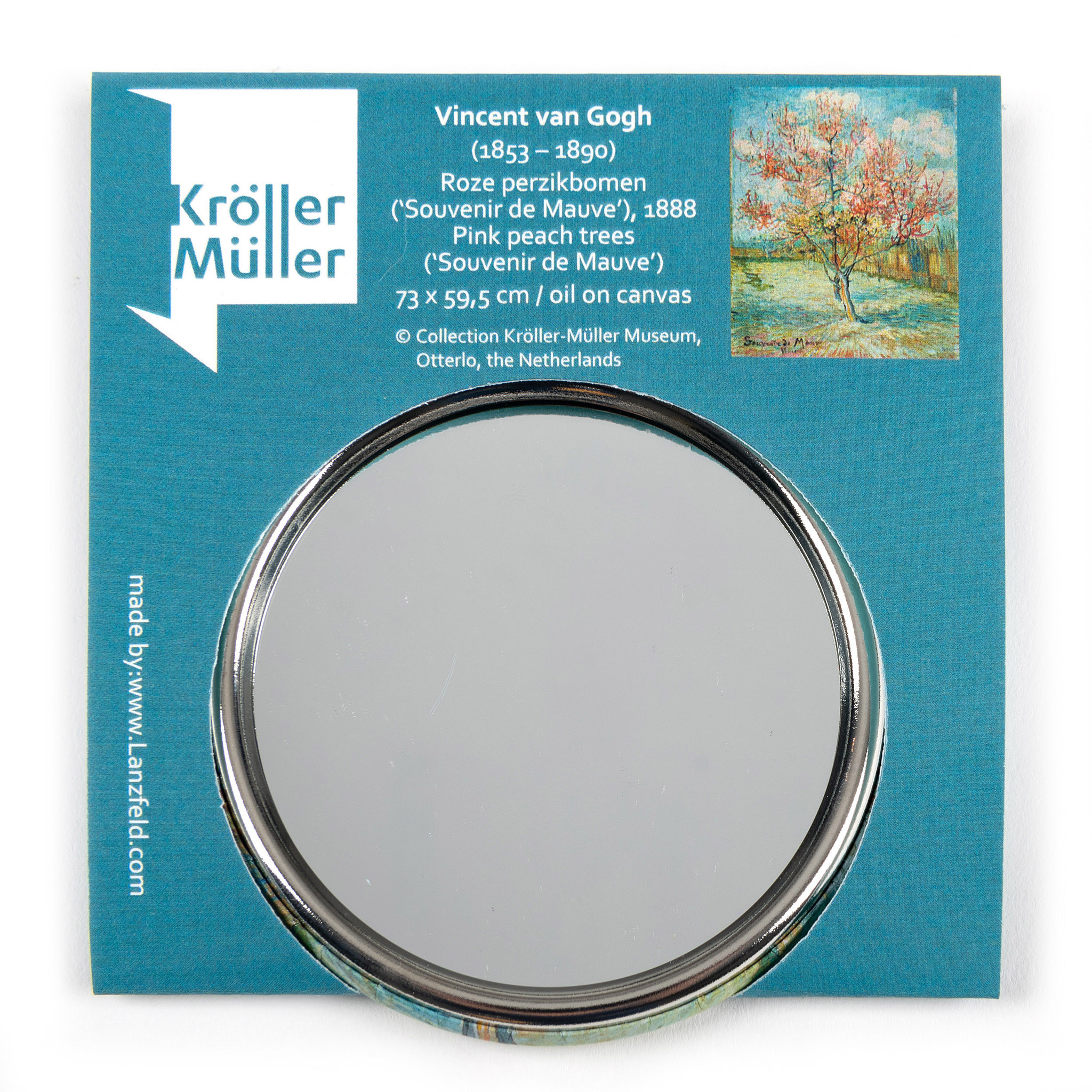 Make-up mirror Van Gogh Pink peach trees