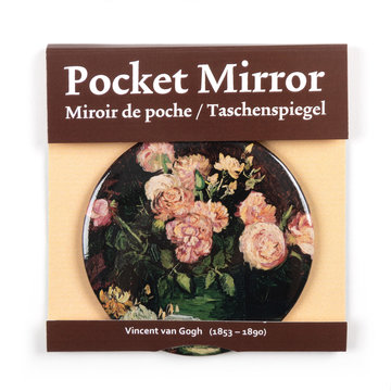 Make-up spiegel - Rozen en pioenen