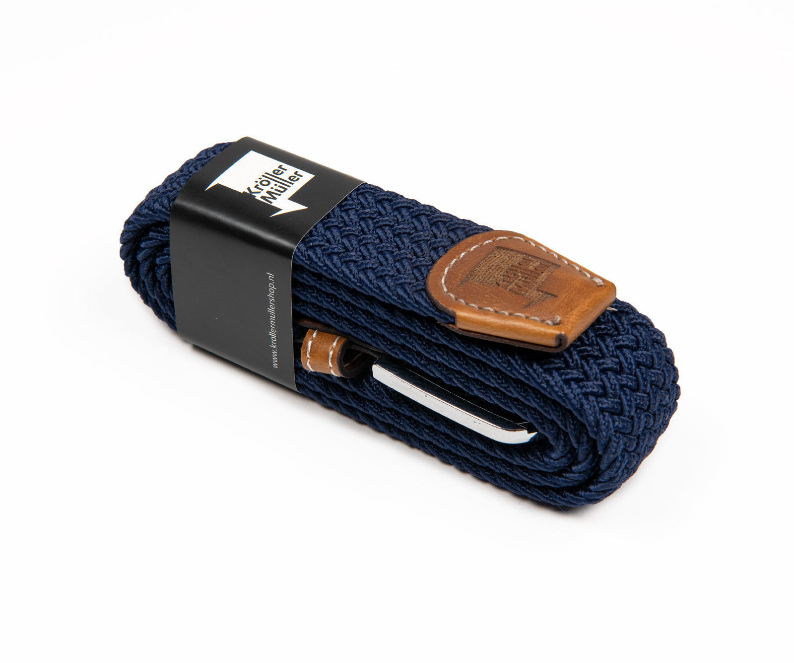 Belt with leader navy