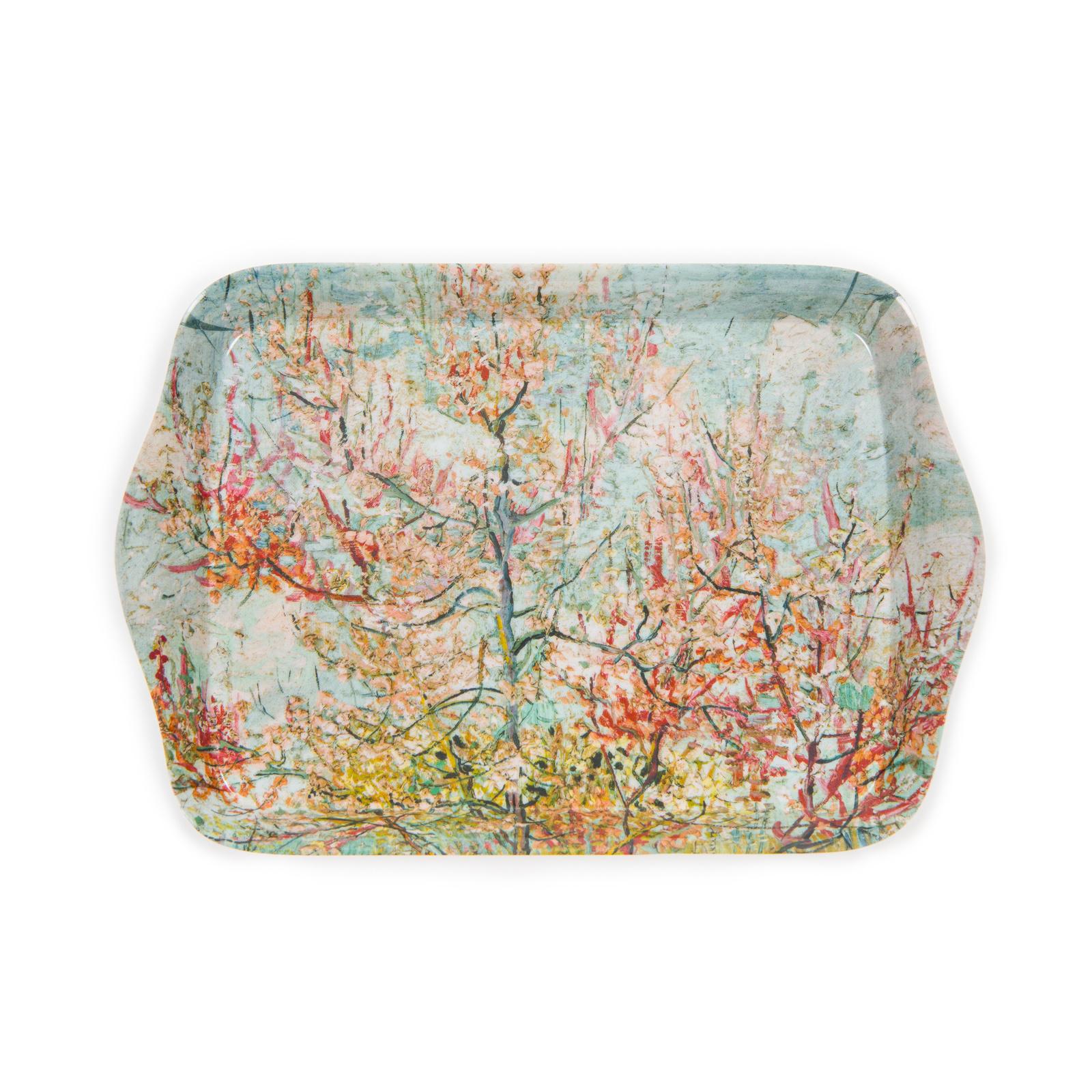 Mini serving tray Van Gogh Pink peach trees