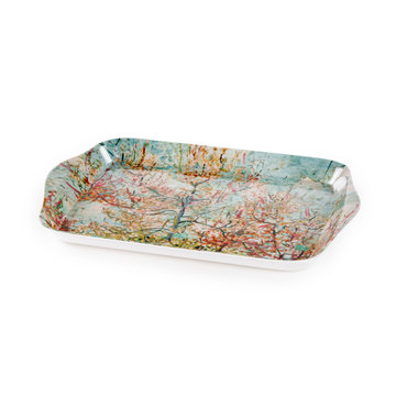 Mini dienblaadje Van Gogh Roze perzikbomen