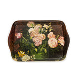 Mini serving tray Van Gogh Roses and peonies