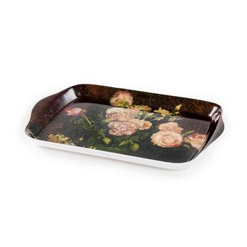 Mini dienblaadje Van Gogh Rozen en pioenen