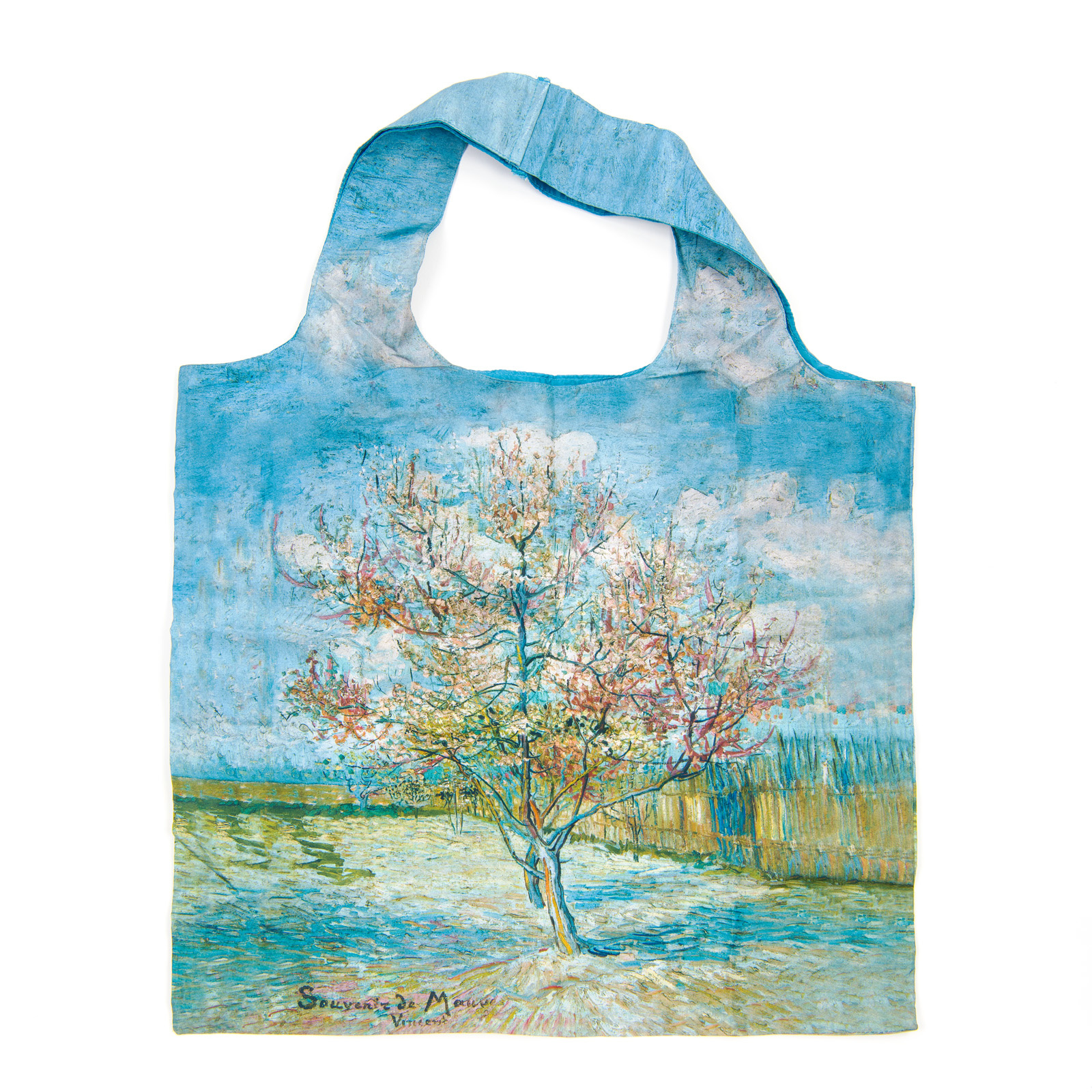 Bedrukte draagtas met Van Gogh-print