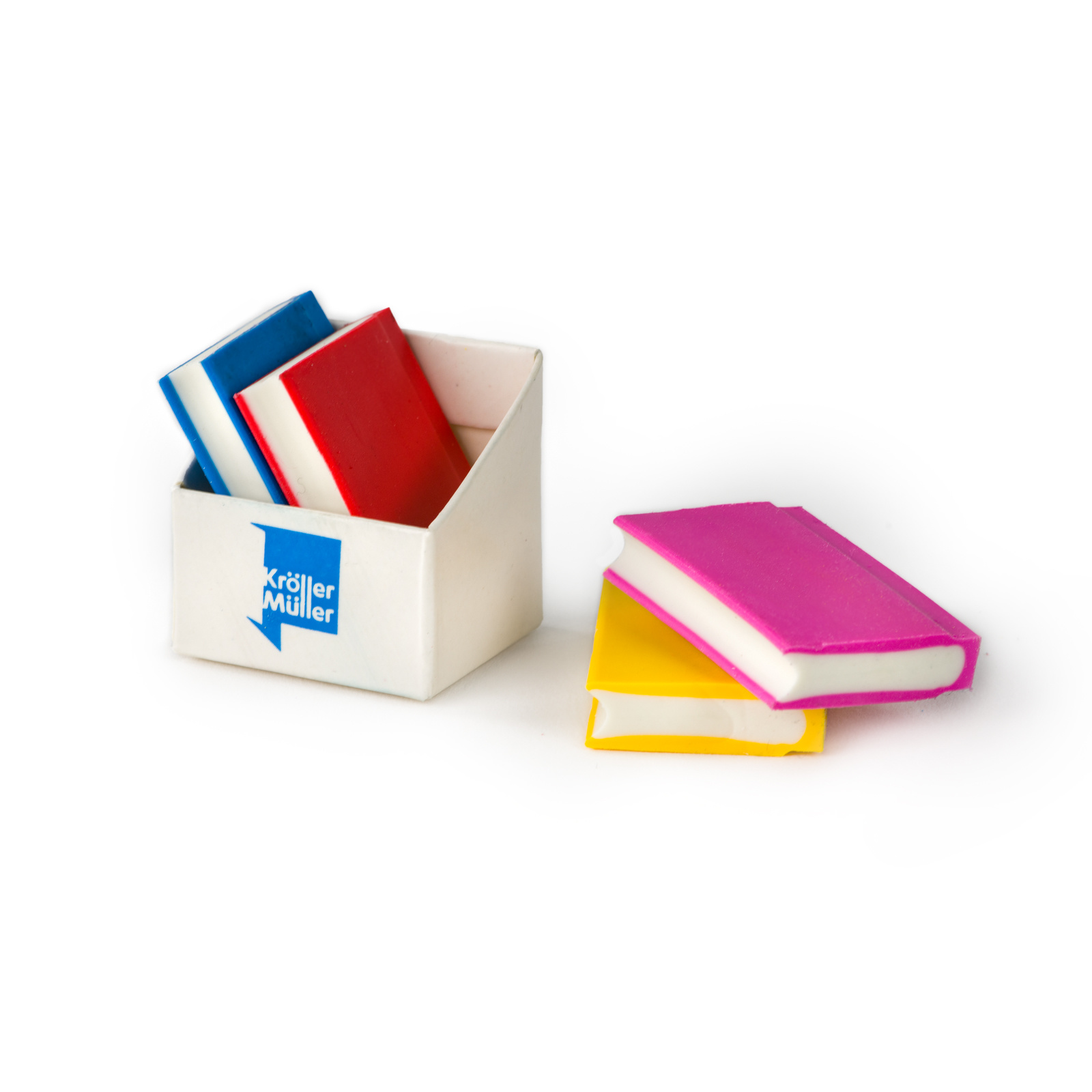 Eraser Book set of four