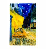 Fridge magnet Van Gogh Terrace of a café at night