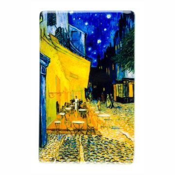 Koelkast magneet Van Gogh Caféterras bij nacht