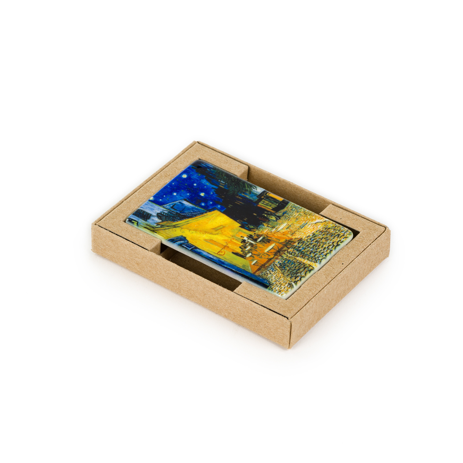 Koelkast magneet Van Gogh - Caféterras bij nacht