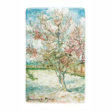 Fridge magnet Van Gogh Pink peach trees