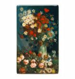 Fridge magnet Van Gogh Meadow flowers and roses