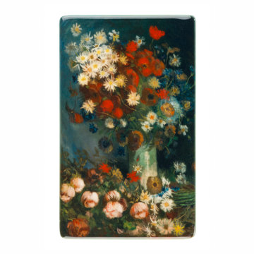 Fridge magnet Van Gogh Meadow flowers and roses