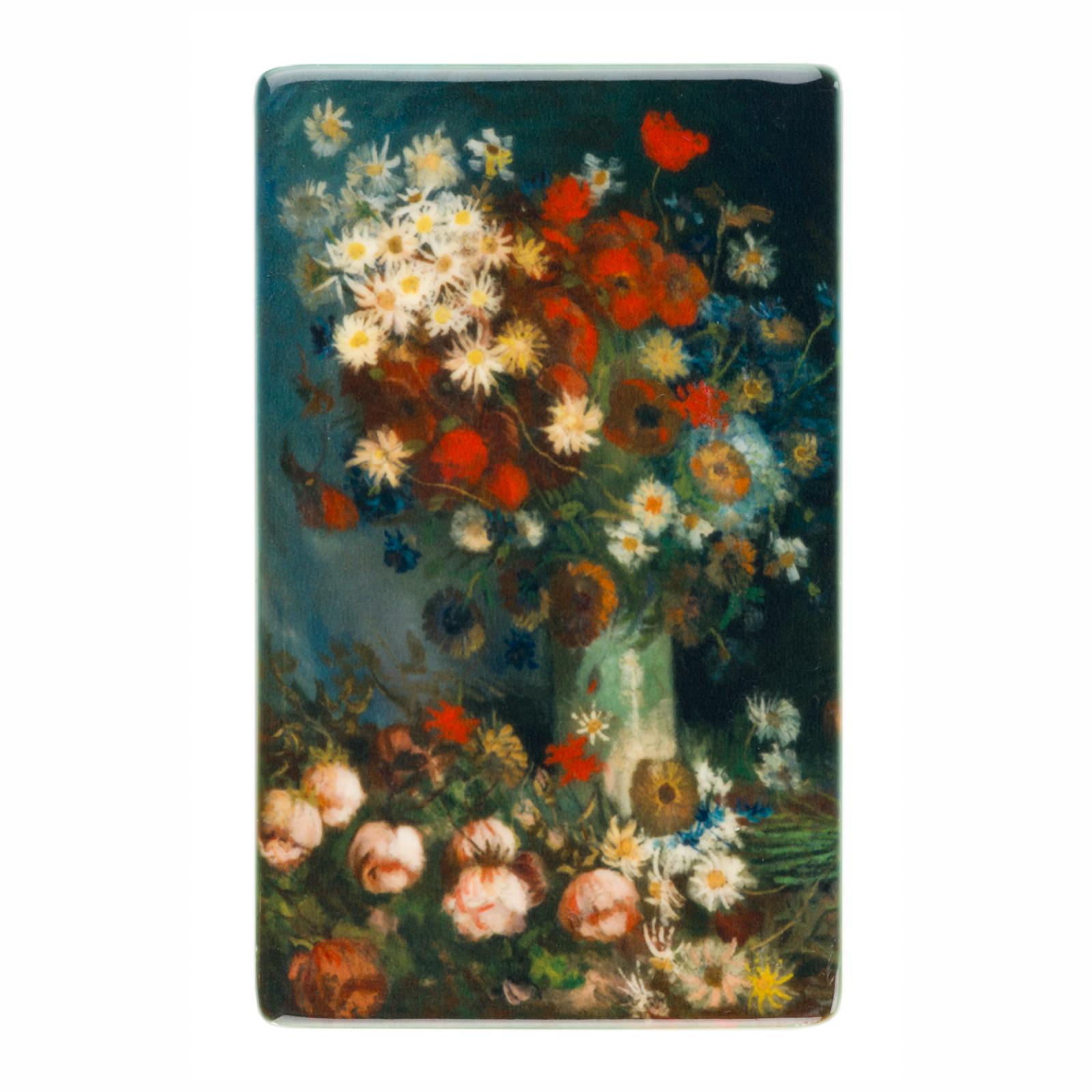 Fridge magnet Van Gogh - Still life with meadow flowers and roses