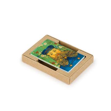 Koelkast magneet Van Gogh - Portret van Joseph Roulin