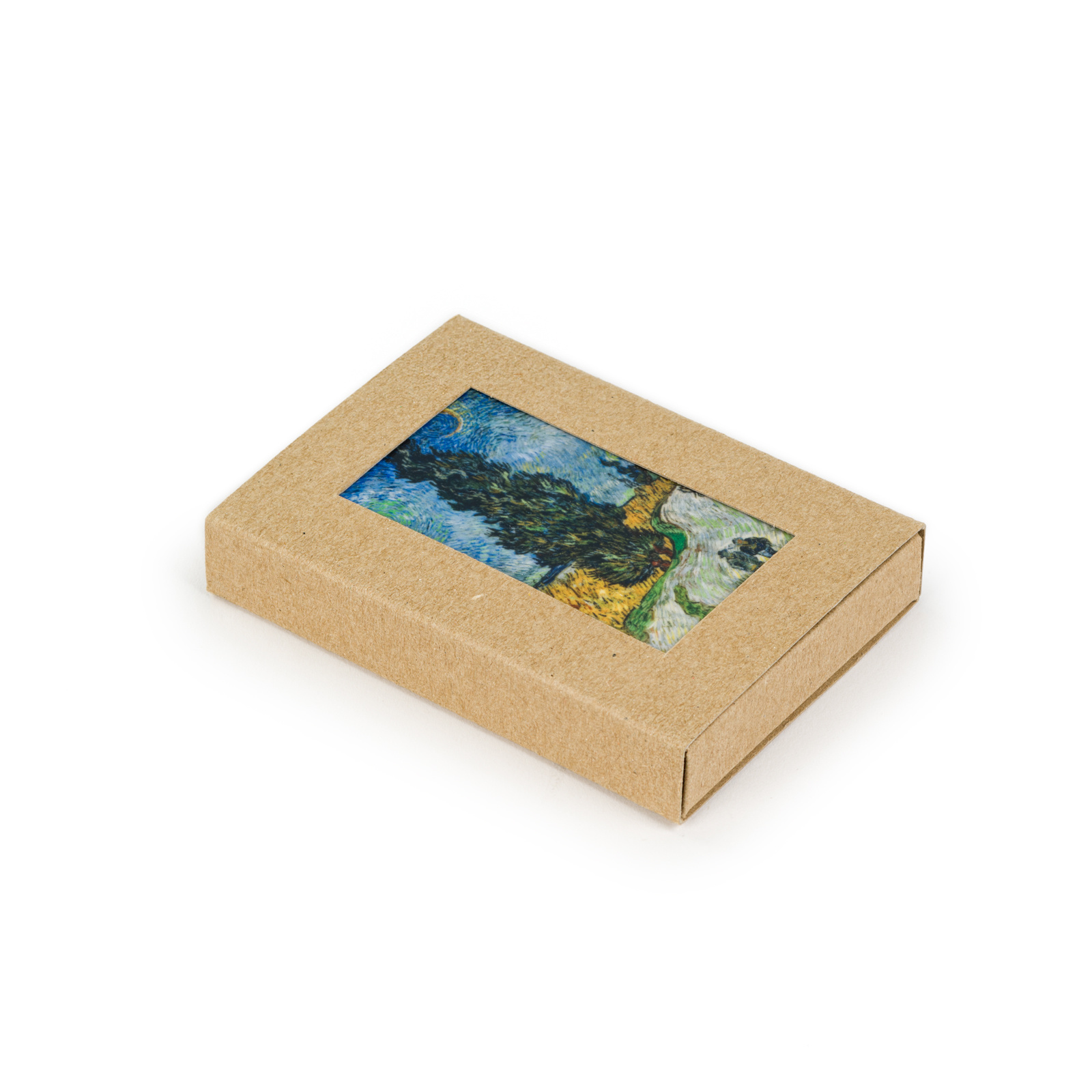 Fridge magnet Van Gogh Country road in Provence by night