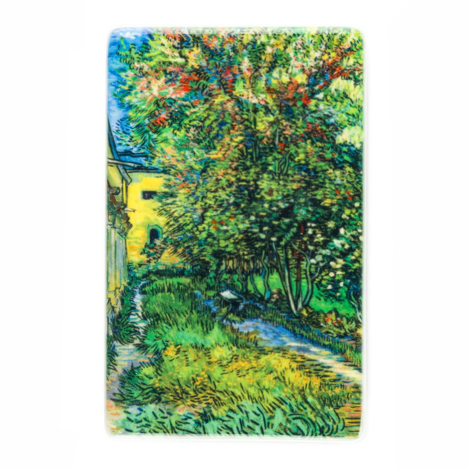Koelkast magneet Van Gogh De tuin van de inrichting