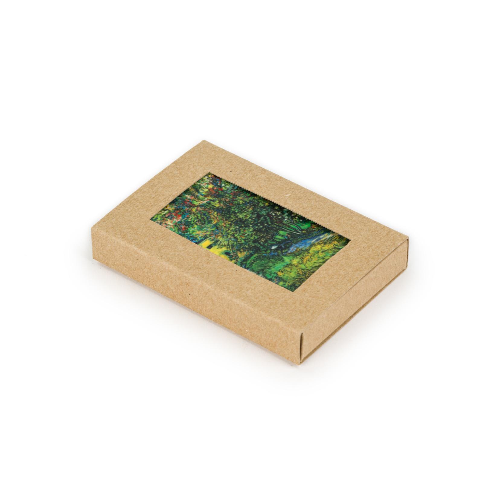 Fridge magnet Van Gogh - The garden of the asylum at Saint-Rémy