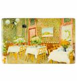 Koelkast magneet Van Gogh Interieur van een restaurant