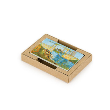 Fridge magnet Van Gogh - Bridge at Arles