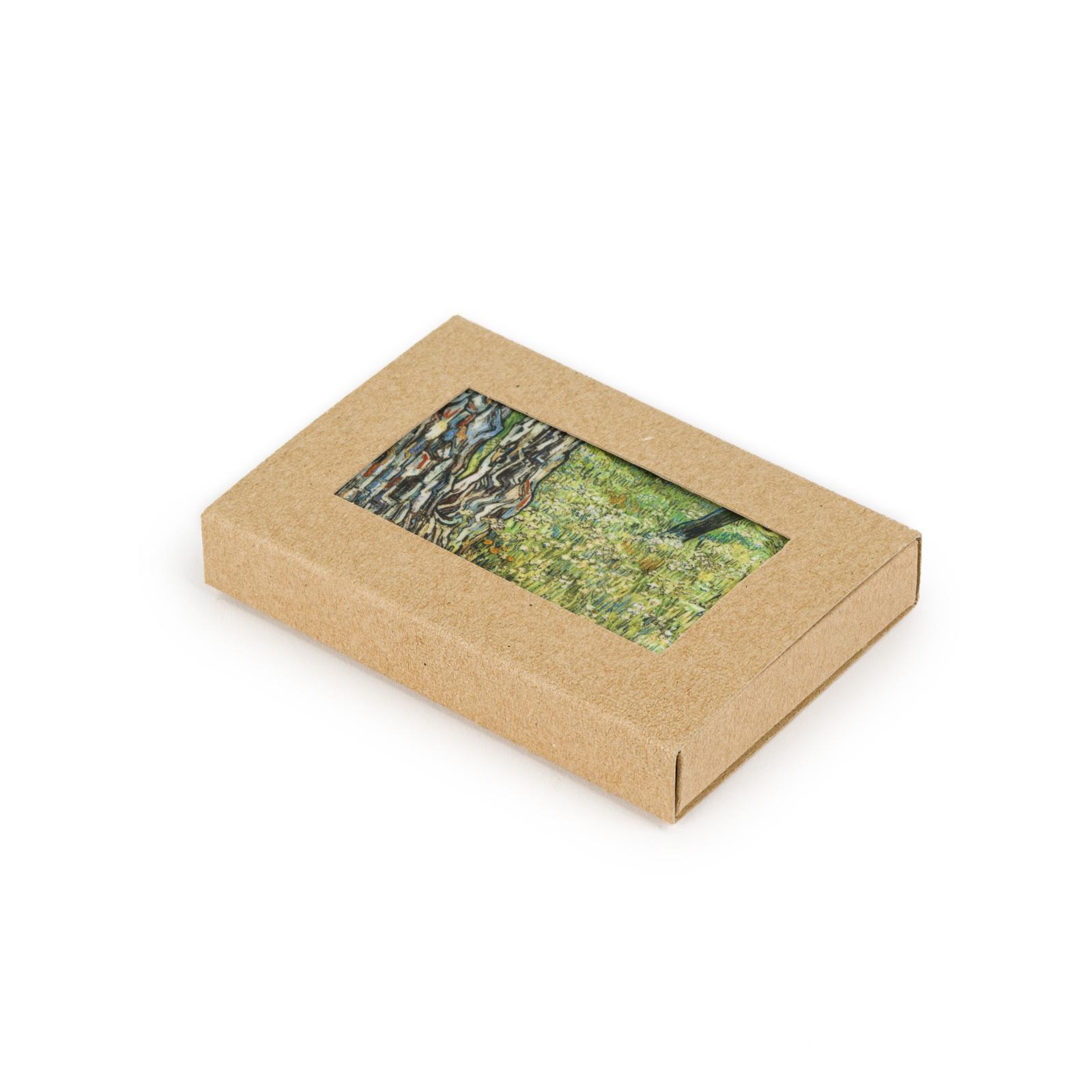 Fridge magnet Van Gogh - Tree trunks in the grass