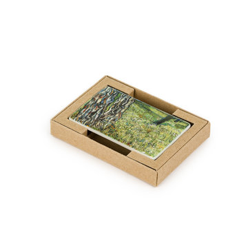 Fridge magnet Van Gogh - Tree trunks in the grass