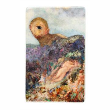 Fridge magnet Odilon Redon - The cyclops