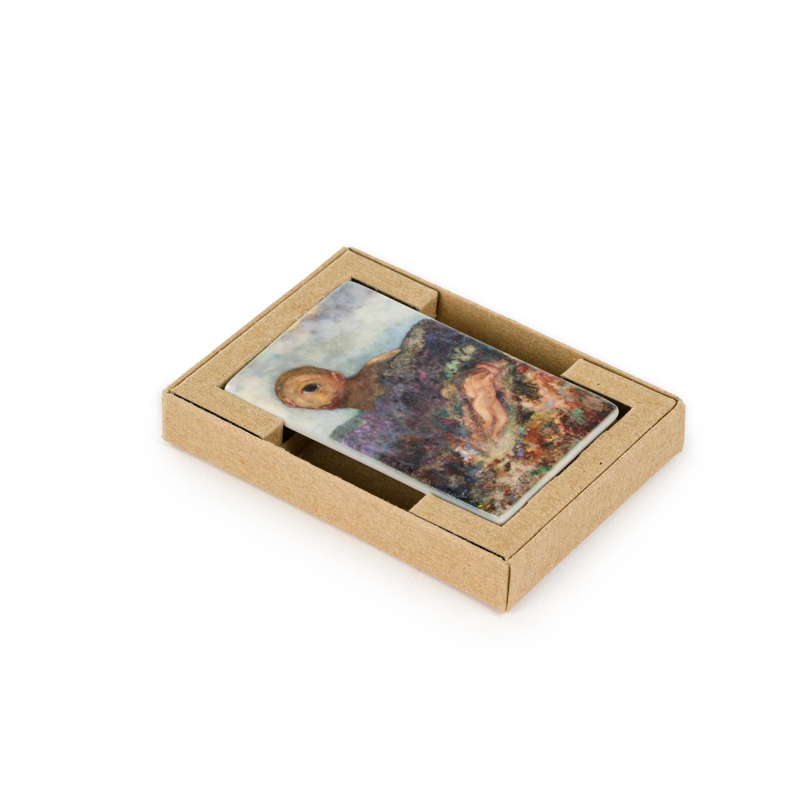 Koelkast magneet Odilon Redon De cycloop