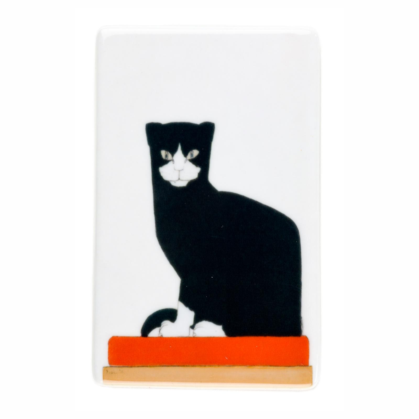 Koelkast magneet Bart van der Leck De kat
