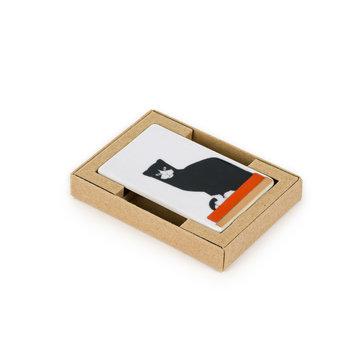 Koelkast magneet Bart van der Leck - De kat