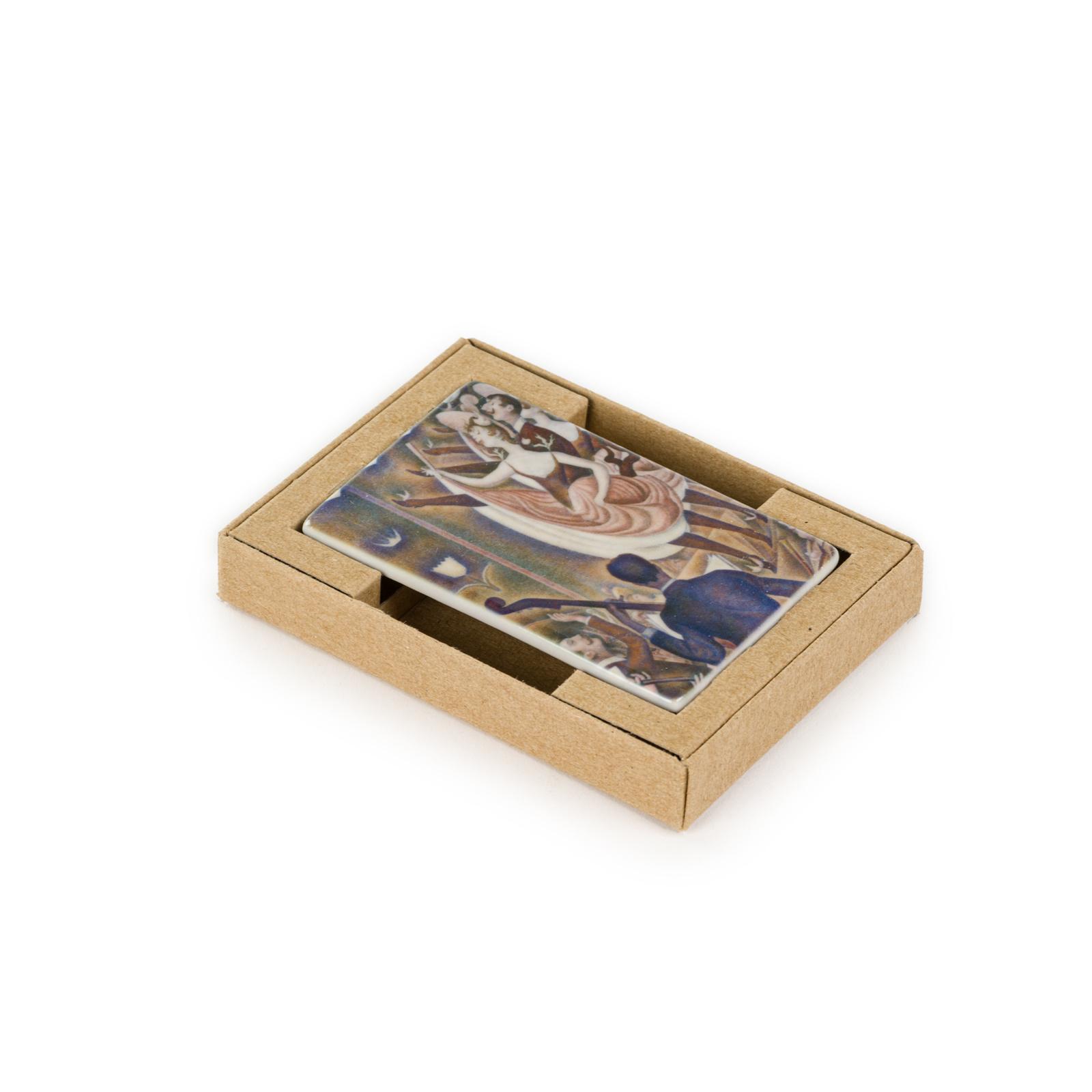 Fridge magnet Georges Seurat - Le Chahut