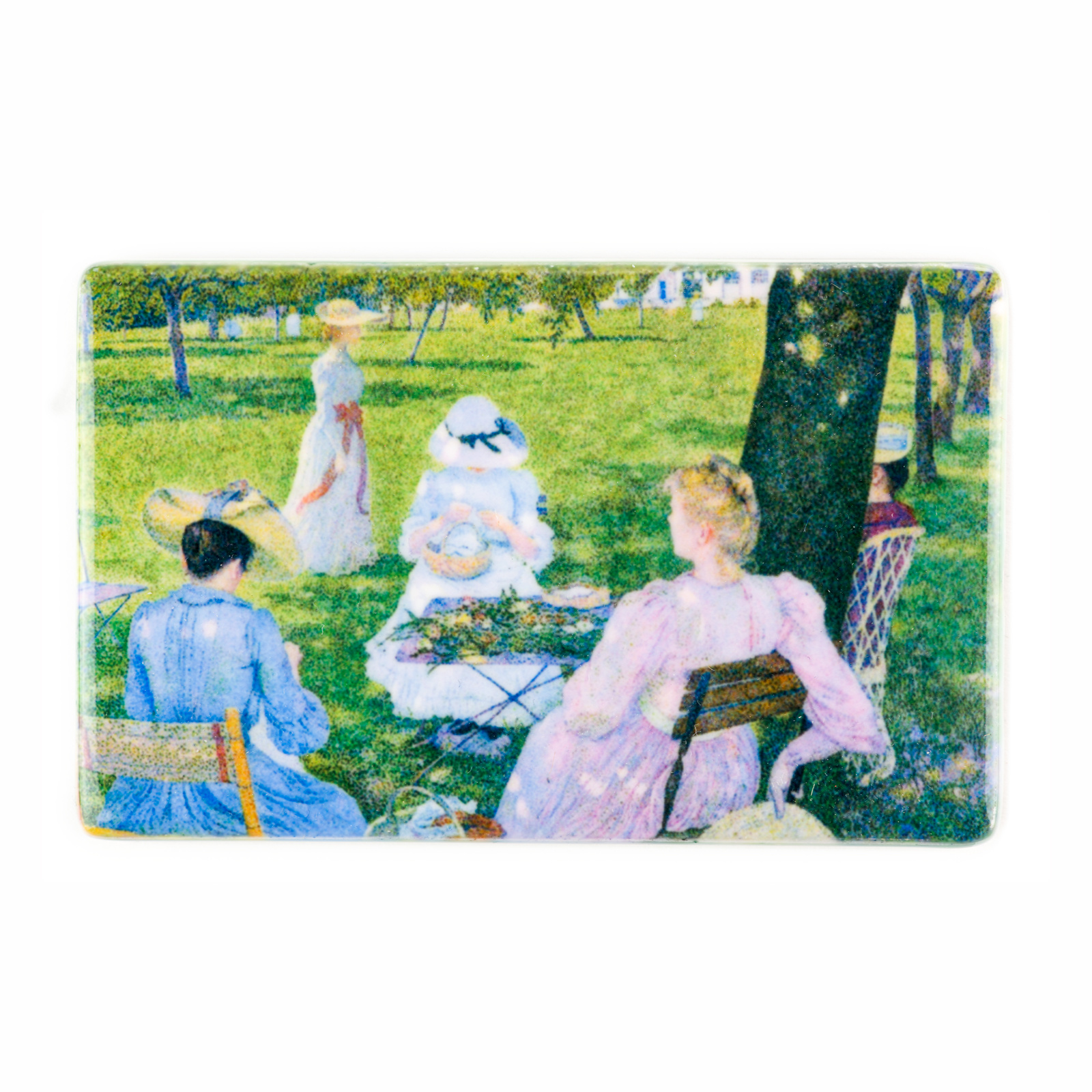 Fridge magnet Théo van Rysselberghe - The orchard