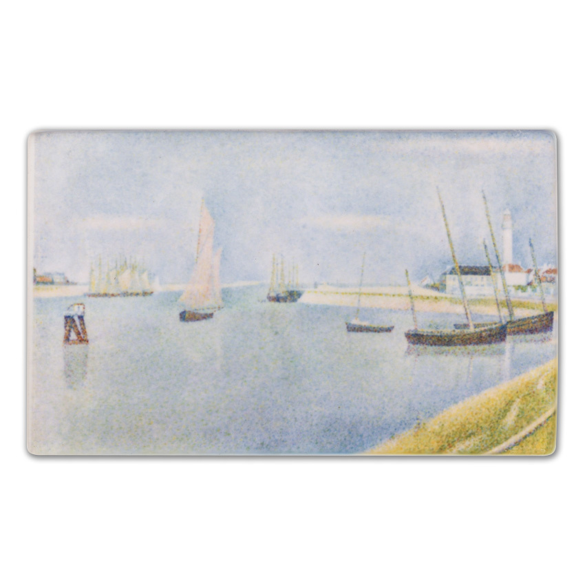 Fridge magnet Georges Seurat - The canal of Gravelines