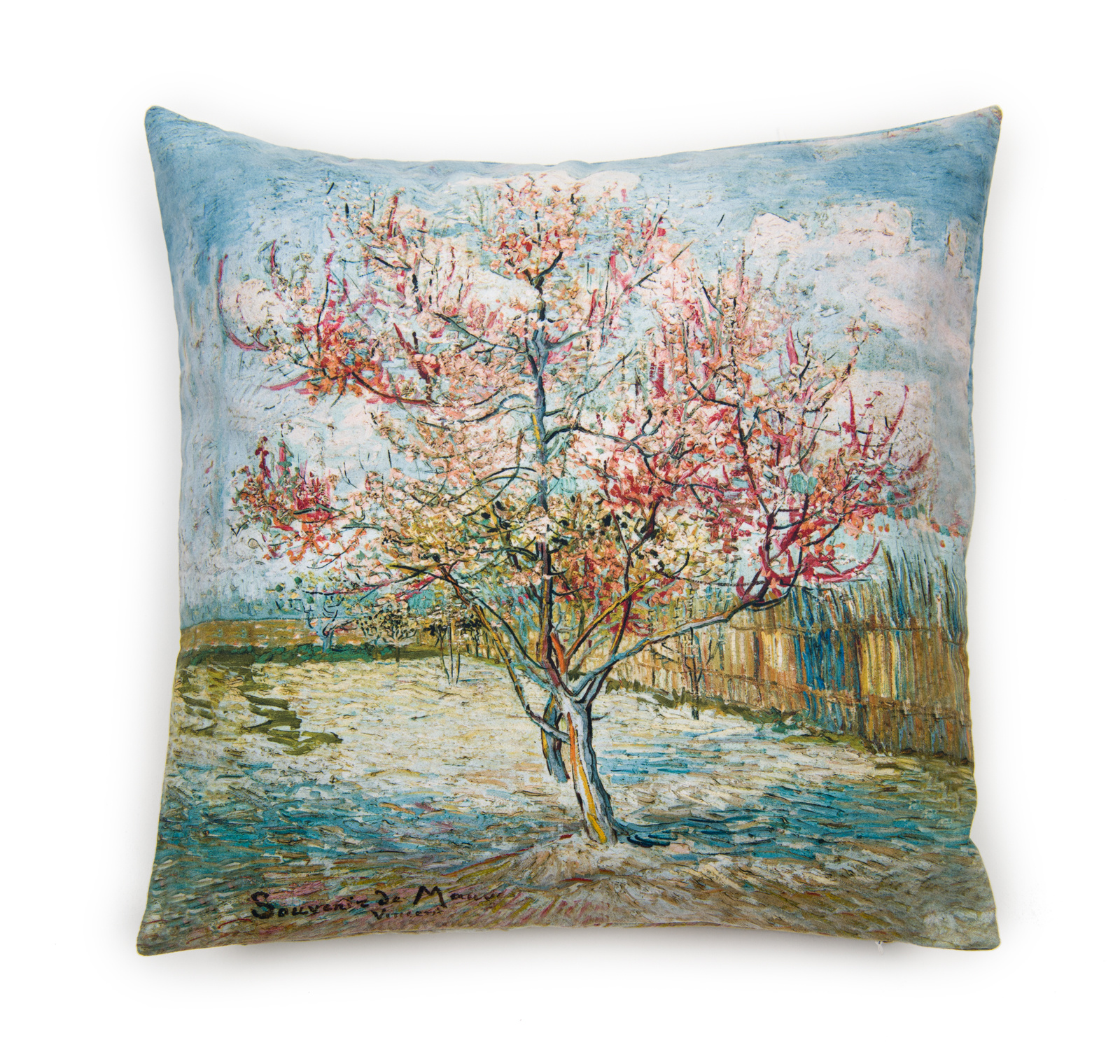 Cushion cover Van Gogh - Pink peach trees