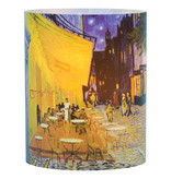 Tea light holder Van Gogh Terrace of a café at night