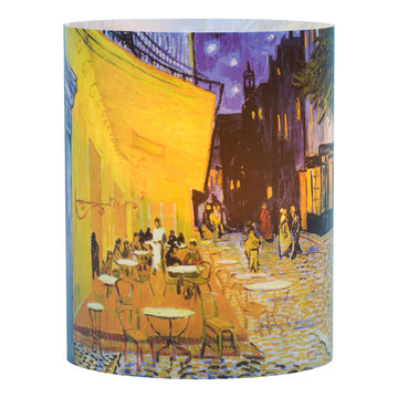 Tea light holder Van Gogh - Terrace of a café at night (large)