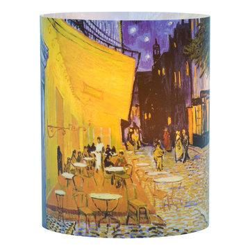 Windlicht Van Gogh - Caféterras bij nacht (groot)