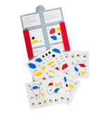 Tegelstickers kopen met design van Bart van der Leck