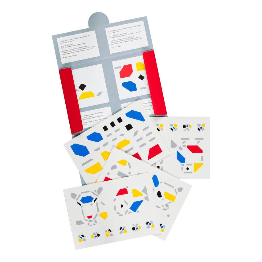 Tile stickers Bart van der Leck