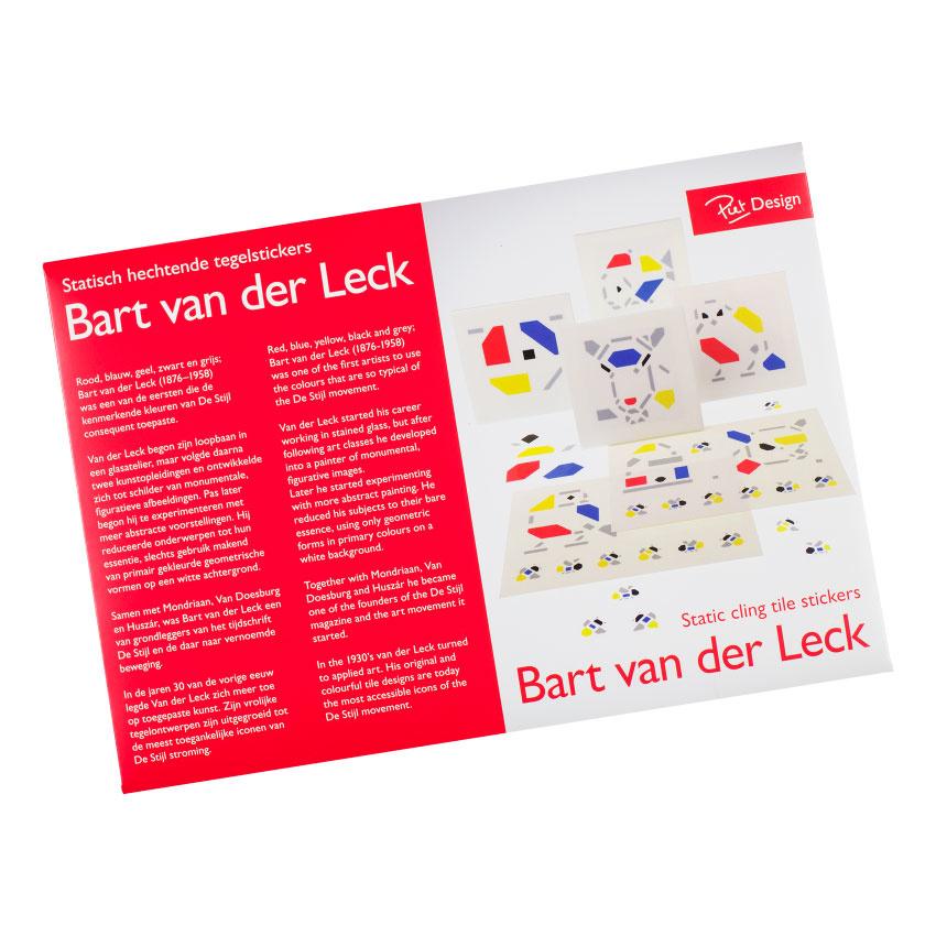 Tegelstickers Bart van der Leck