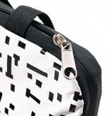 Backpack Mondriaan black & white