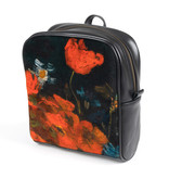 Backpack Van Gogh Meadow flowers and roses