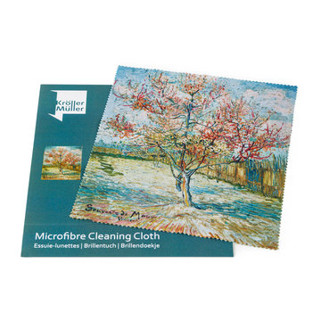 Lens cloth Van Gogh Pink peach trees
