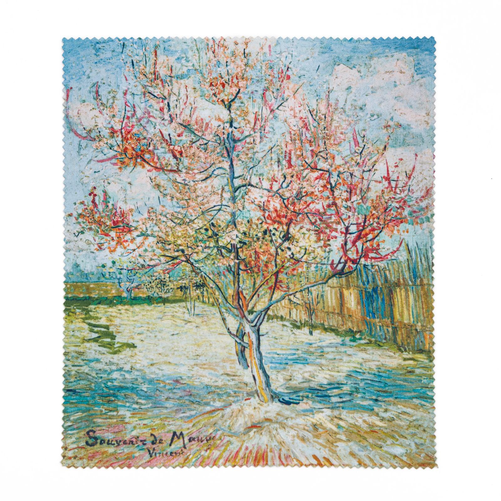 Brillendoekje Van Gogh Roze perzikbomen