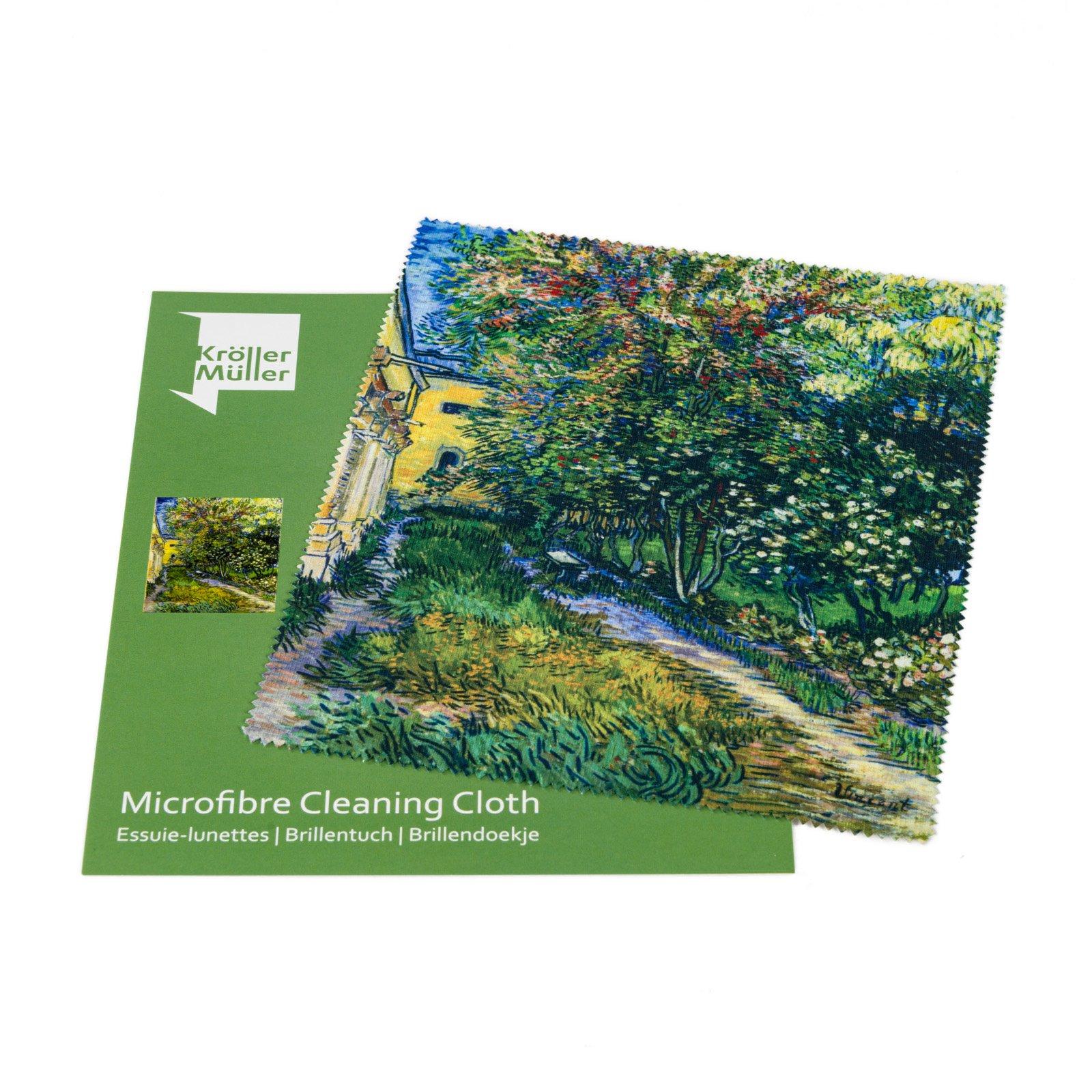 Brillendoekje Van Gogh De tuin van de inrichting