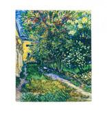 Lens cloth Van Gogh - The garden of the asylum at Saint-Rémy