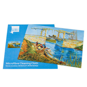 Lens cloth Van Gogh - Bridge at Arles