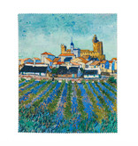 Brillendoekje Van Gogh - Gezicht op Saintes-Maries-de-la-Mer