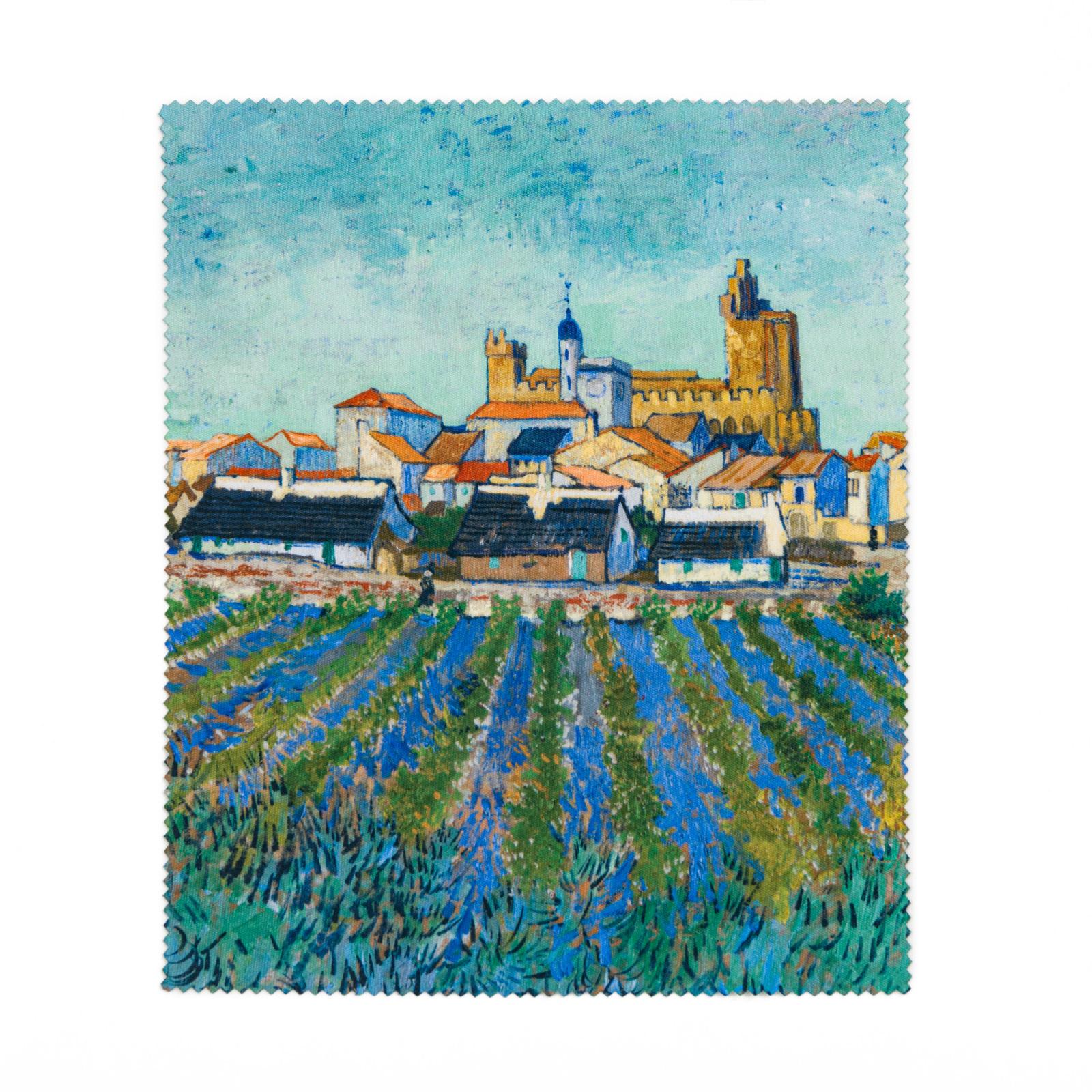 Lens cloth Van Gogh - View of Saintes-Maries-de-la-Mer