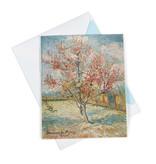 Double card Van Gogh Pink peach trees